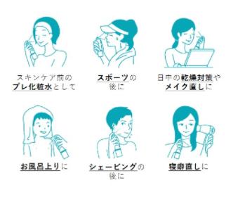 岐阜羽島 全身化粧水 おすすめ 美容室セレナ
